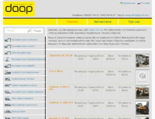 daap.com.ua screenshot