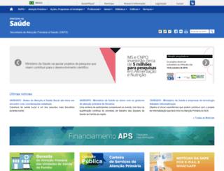 dab.saude.gov.br screenshot