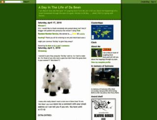 dabeansays.blogspot.com screenshot