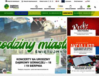 dabrowa-gornicza.pl screenshot