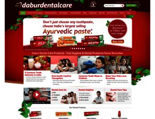 daburdentalcare.com screenshot