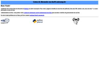 dac01.unicamp.br screenshot