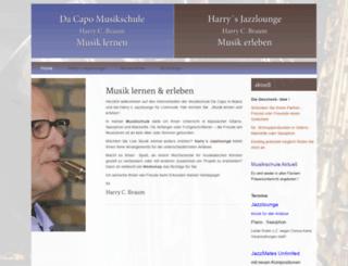 dacapo-musik.de screenshot