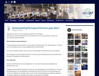 dacapolisse.nl screenshot