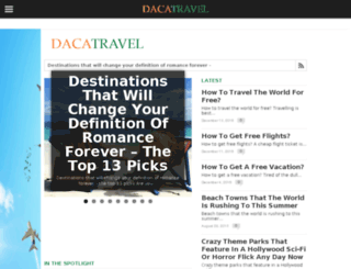 dacatravel.com screenshot