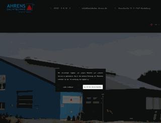 dachdecker-ahrens.de screenshot