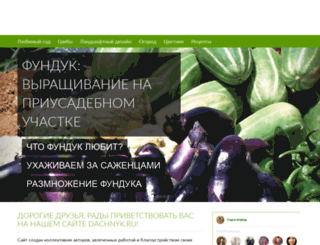 dachnyk.ru screenshot