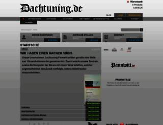 dachtuning.de screenshot