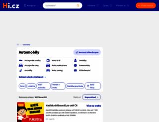 dacia.katalog-automobilu.cz screenshot