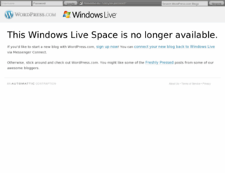 dada607.spaces.live.com screenshot