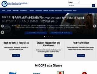 dadeschools.net screenshot