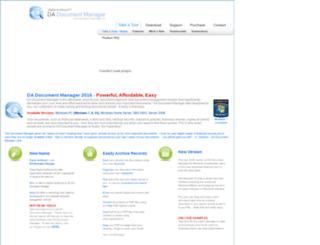 dadocumentmanager.com screenshot