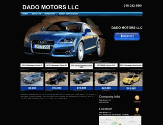 dadomotorsonline.com screenshot