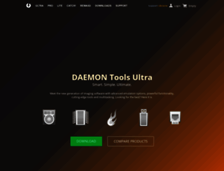 daemon-tools.cc screenshot
