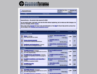 daemonforums.org screenshot
