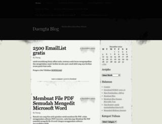 daengta.wordpress.com screenshot