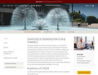 daf.csulb.edu screenshot
