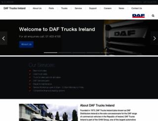 daf.ie screenshot