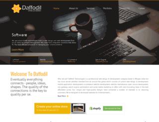 daffodil.co screenshot
