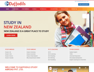 daffodilsstudy.com screenshot