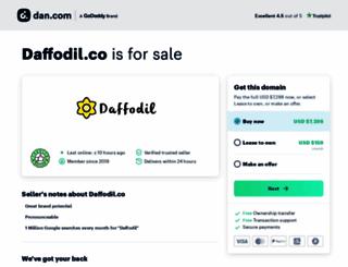 daffodiltechnologies.com screenshot