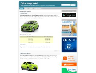 daftarhargamobil.com screenshot