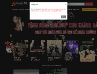 daga68.com screenshot