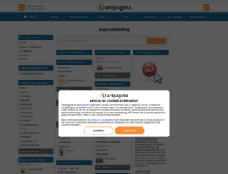 dagaanbieding.startpagina.nl screenshot