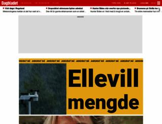dagbladet.no screenshot