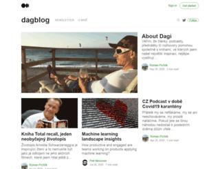 dagblog.cz screenshot
