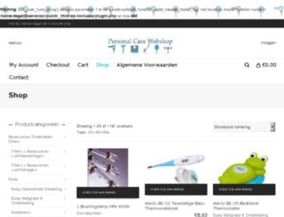 dagelijkseverzorginginkoop.nl screenshot
