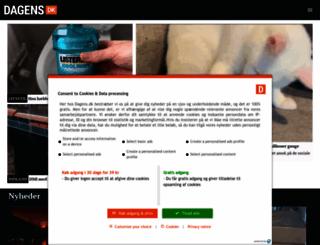 dagens.dk screenshot