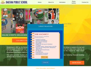 dagshaipublicschool.in screenshot