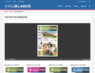 dagskrain.is screenshot