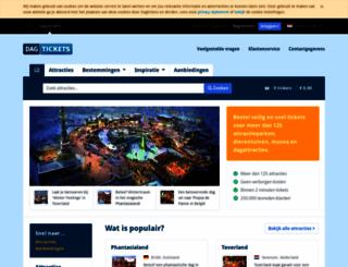 dagtickets.nl screenshot