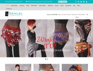 dahlal.com screenshot