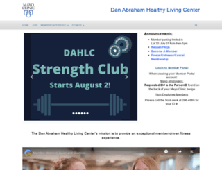 dahlc.mayoclinic.org screenshot