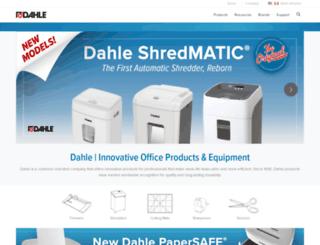 dahle.com screenshot