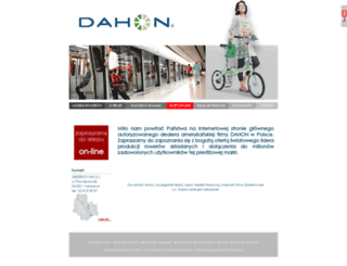 dahon.pl screenshot
