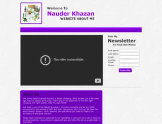 dahuss.myspecialwebsite.com screenshot