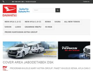 daihatsu-mobilkredit.com screenshot