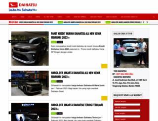 daihatsu-xenia.com screenshot