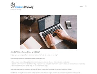daikin-mcquay.com.br screenshot