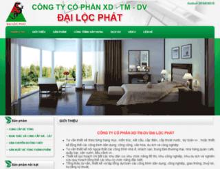 dailocphat.dos.vn screenshot