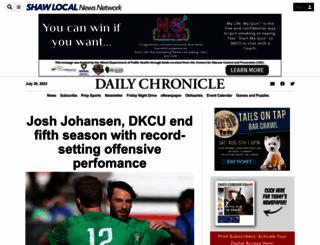 daily-chronicle.com screenshot