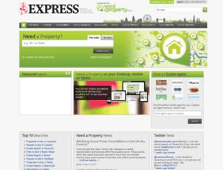daily-express.needaproperty.com screenshot
