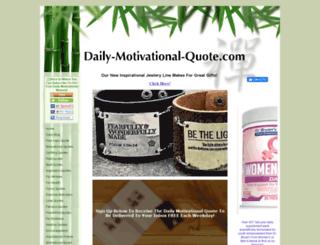 daily-motivational-quote.com screenshot