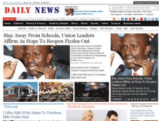 daily-news.co.ke screenshot