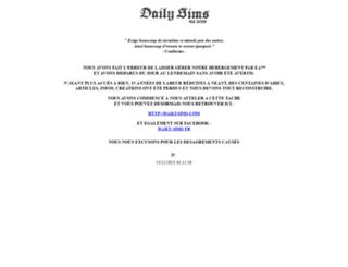 daily-sims.com screenshot