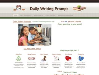 daily-writing-prompt.com screenshot